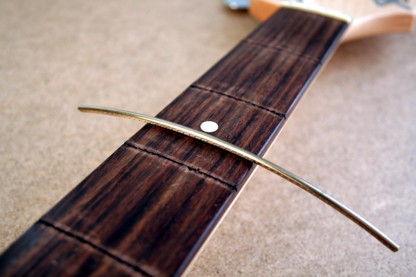 Pre-bent frets are recommended