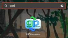 GPRename shortcut