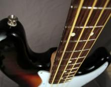 Refretting a Fender Jazz Bass guitar, DIY