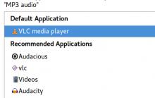 VLC as default MP3 player