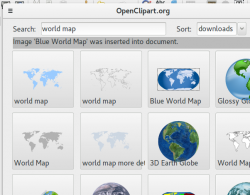 Openclipart extension for Libreoffice in Ubuntu