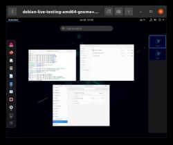 Debian in Boxes