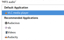 VLC as default MP3 player